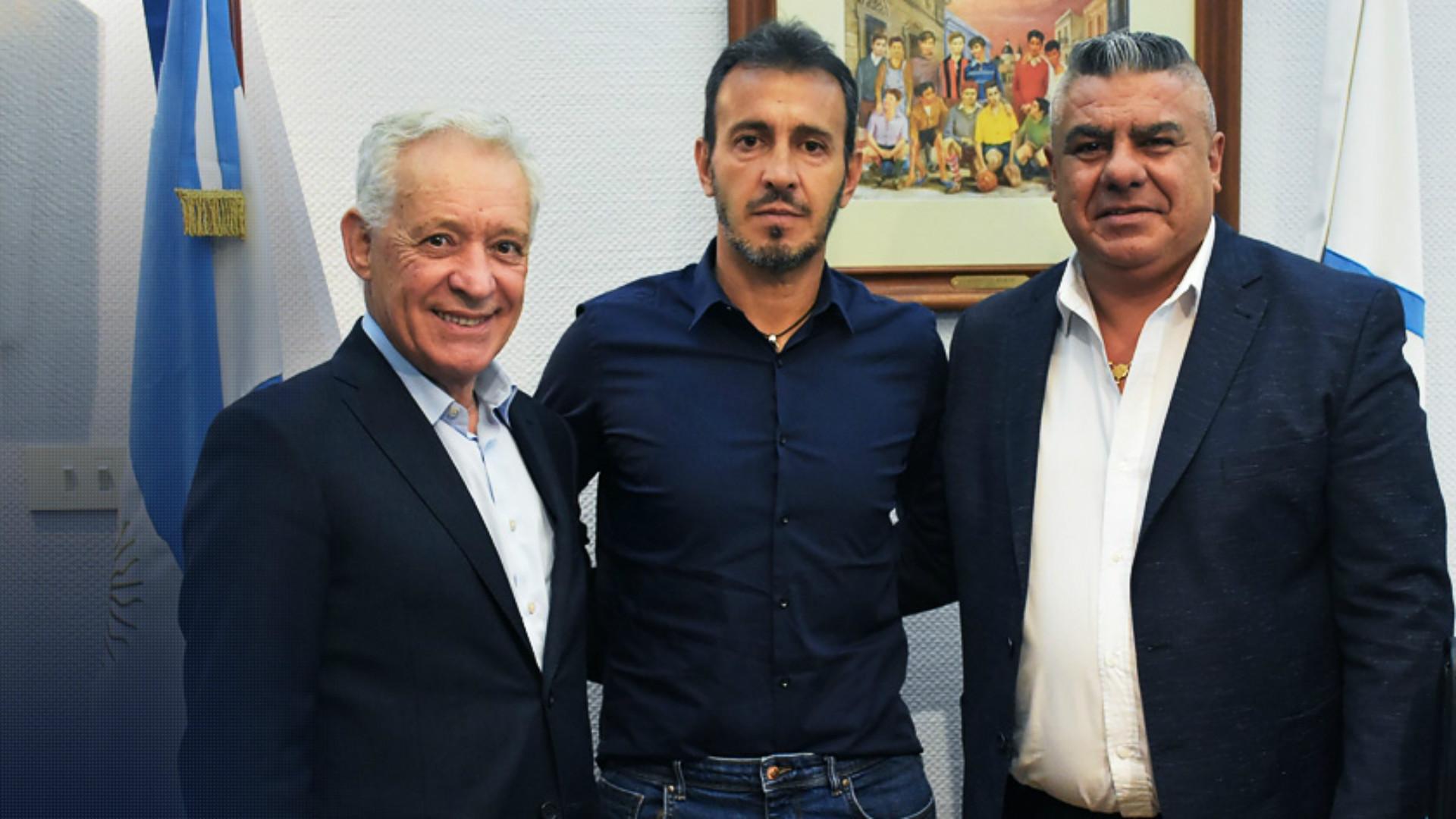 Fernando Batista Victor Blanco Claudio Tapia AFA Seleccion Argentina Sub 20