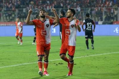 Hugo Boumous cele NorthEast United Goa ISL