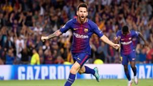 Lionel Messi, Barcelona - Juventus, Champions League, 09122017