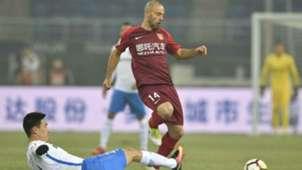 Javier Mascherano Hebei Fortune 03032018