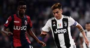 Dybala Mbaye Juventus Bologna