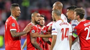 Arturo Vidal Guido Pizarro Sevilla Bayern Munich UCL 03042018