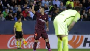 Luis Suarez Malaga Barcelona LaLiga