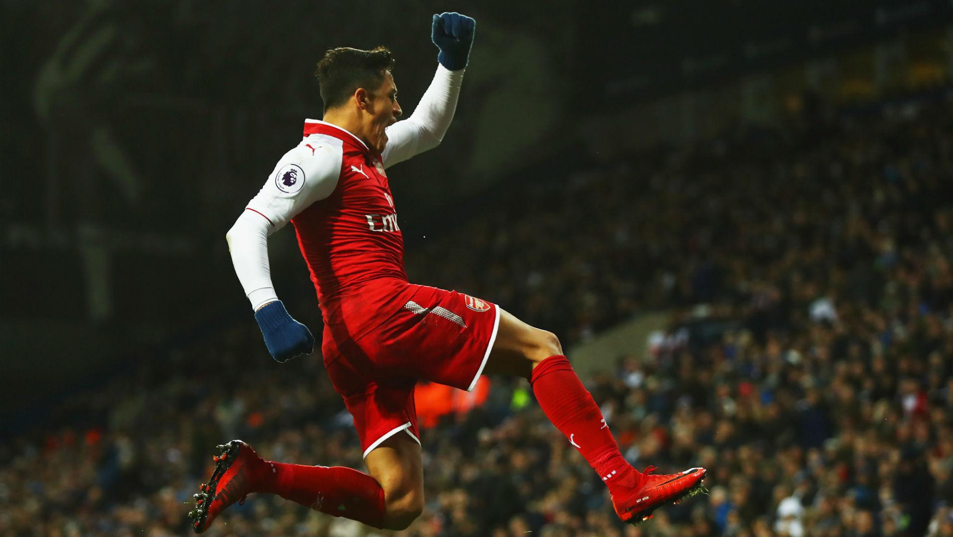 311217 Arsenal West Bromwich Alexis Sánchez