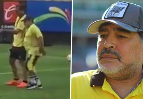 Video shows Maradona struggling to walk amid serious knee issues