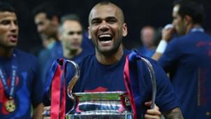 Dani Alves FC Barcelona Champions League