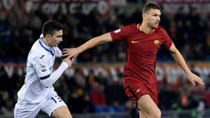 Caldara Dzeko Roma Atalanta Serie A