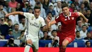 Lucas Vazquez Lenglet Real Madrid Sevilla LaLiga 14052017