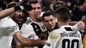 Mandzukic Cristiano Ronaldo Juventus Valencia Champions League