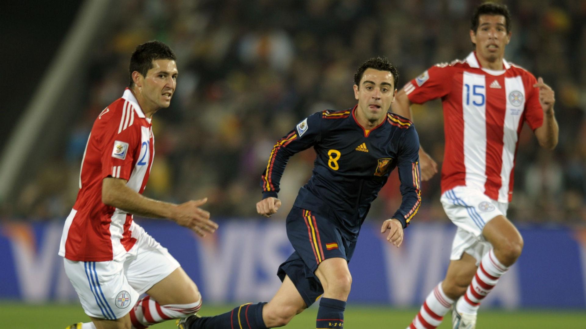 Paraguay España Xavi Sudáfrica 2010