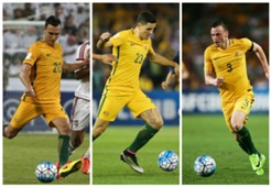 Trent Sainsbury Tom Rogic Brad Smith Australia