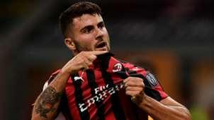 Patrick Cutrone Milan Roma Serie A 31082018