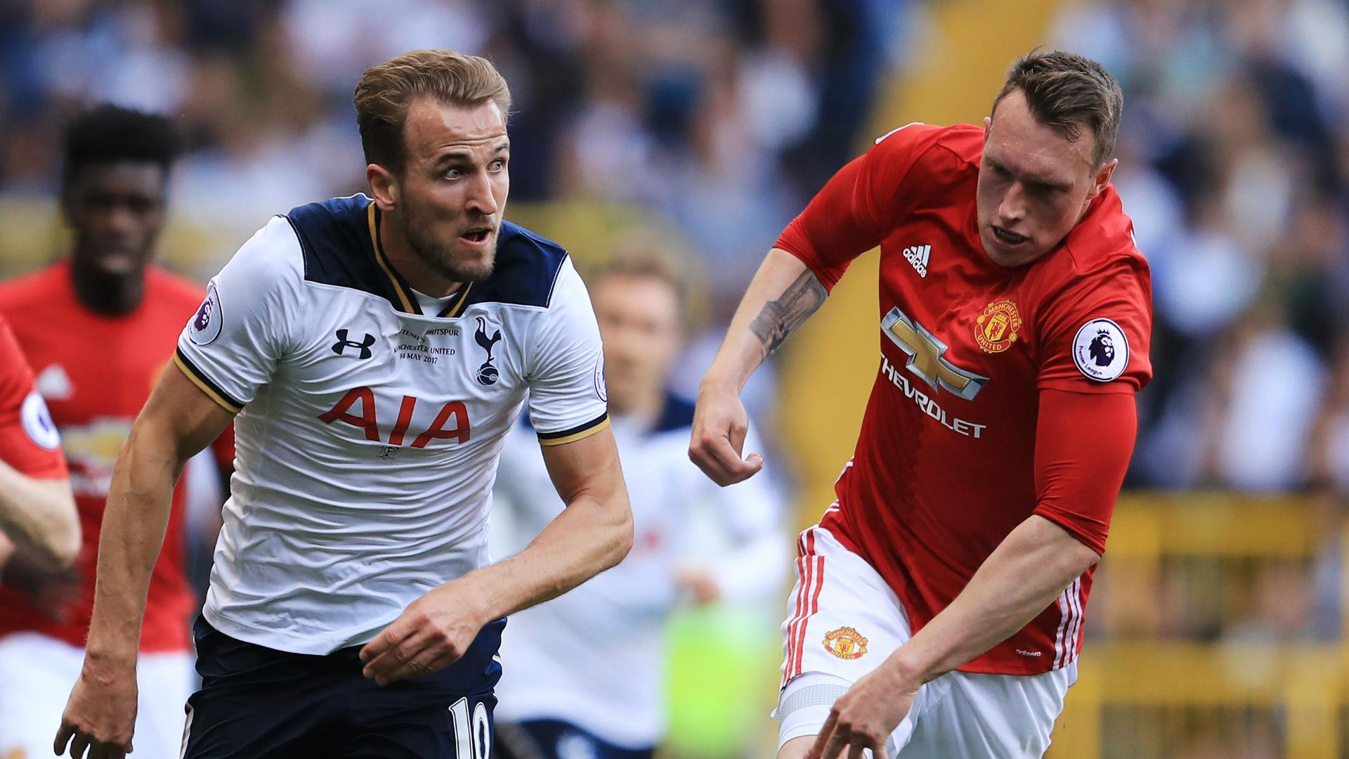 Harry Kane Tottenham Phil Jones Manchester United