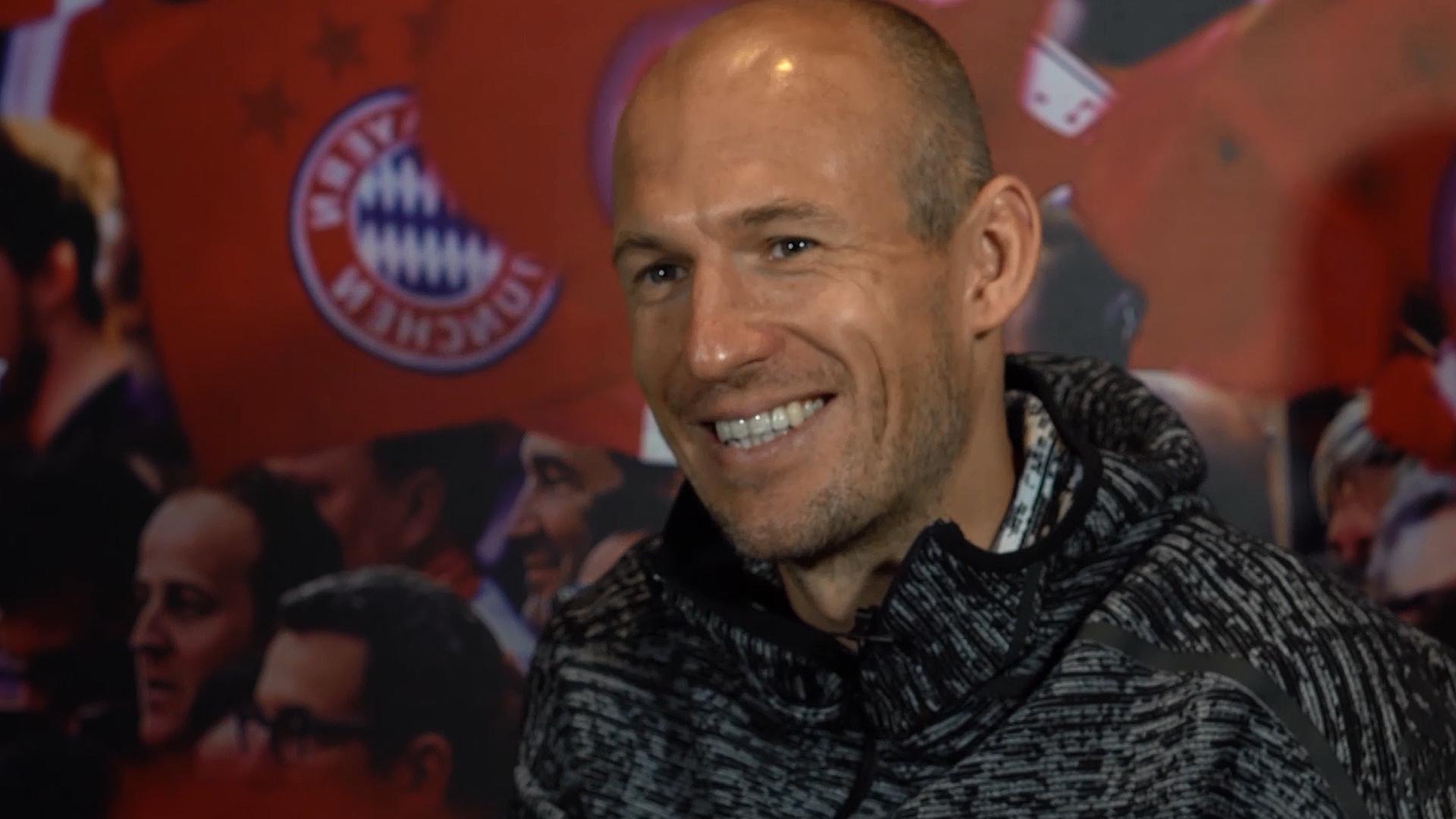 Arjen Robben EXCLUSIVE