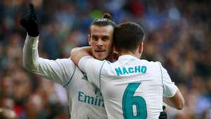 Gareth Bale Nacho Real Madrid Deportivo LaLiga