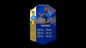 FIFA 18 Calcio A Team of the Season Koulibaly