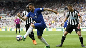 Olivier Giroud Newcastle Chelsea Premier League 13052018