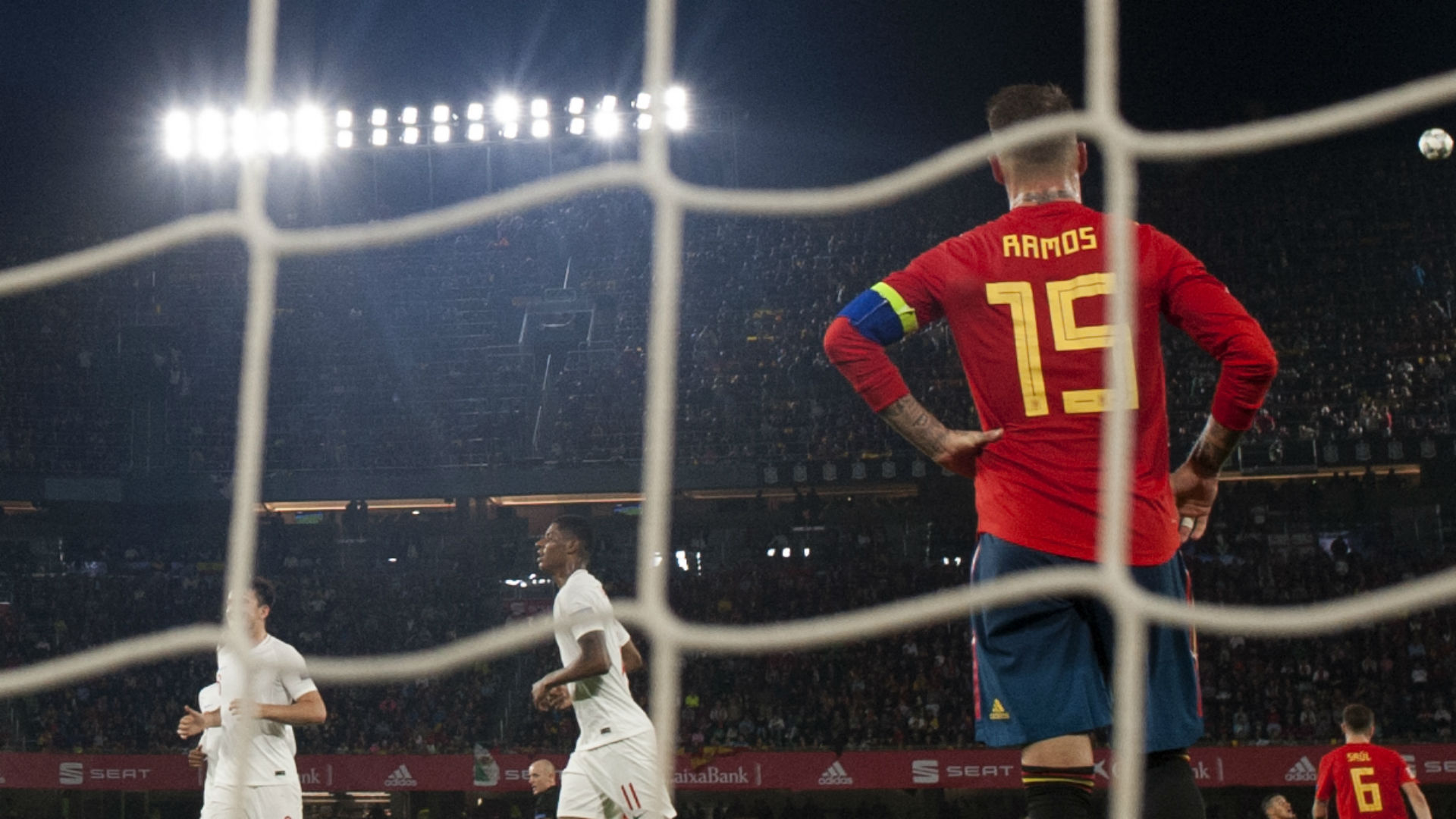 Sergio Ramos Espanha Inglaterra Nations League 15 10 2018