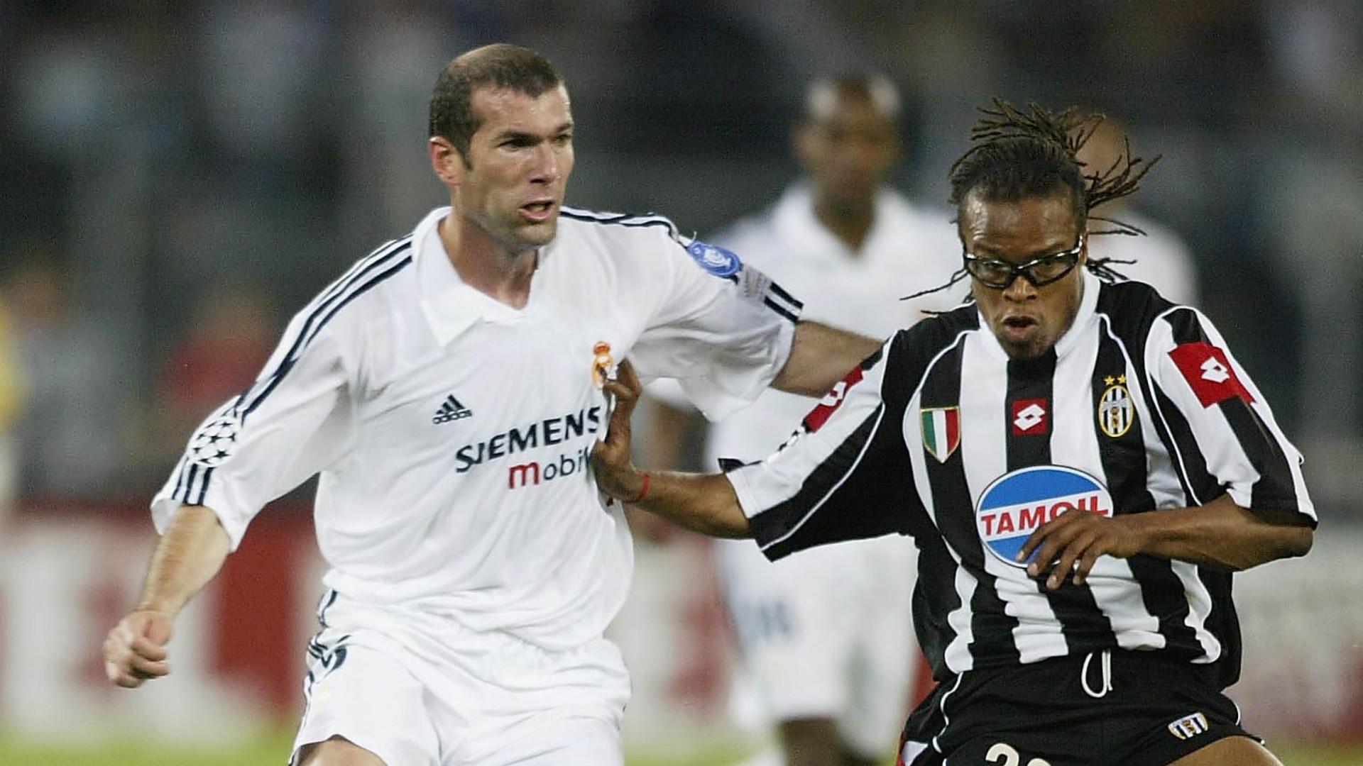 Edgar Davids Zinedine Zidane