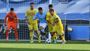 Manchester City Napoli Youth League