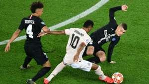 Marcus Rashford PSG Manchester United UEFA Champions League 06032019