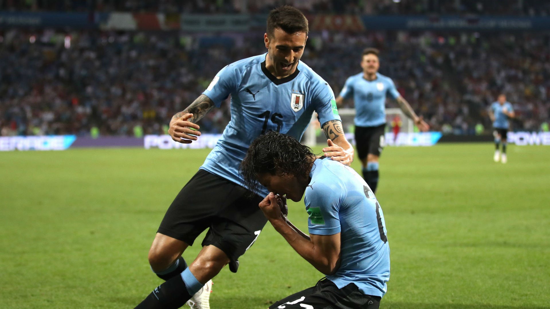 Edinson Cavani Matas Vecino Uruguay Portugal World Cup