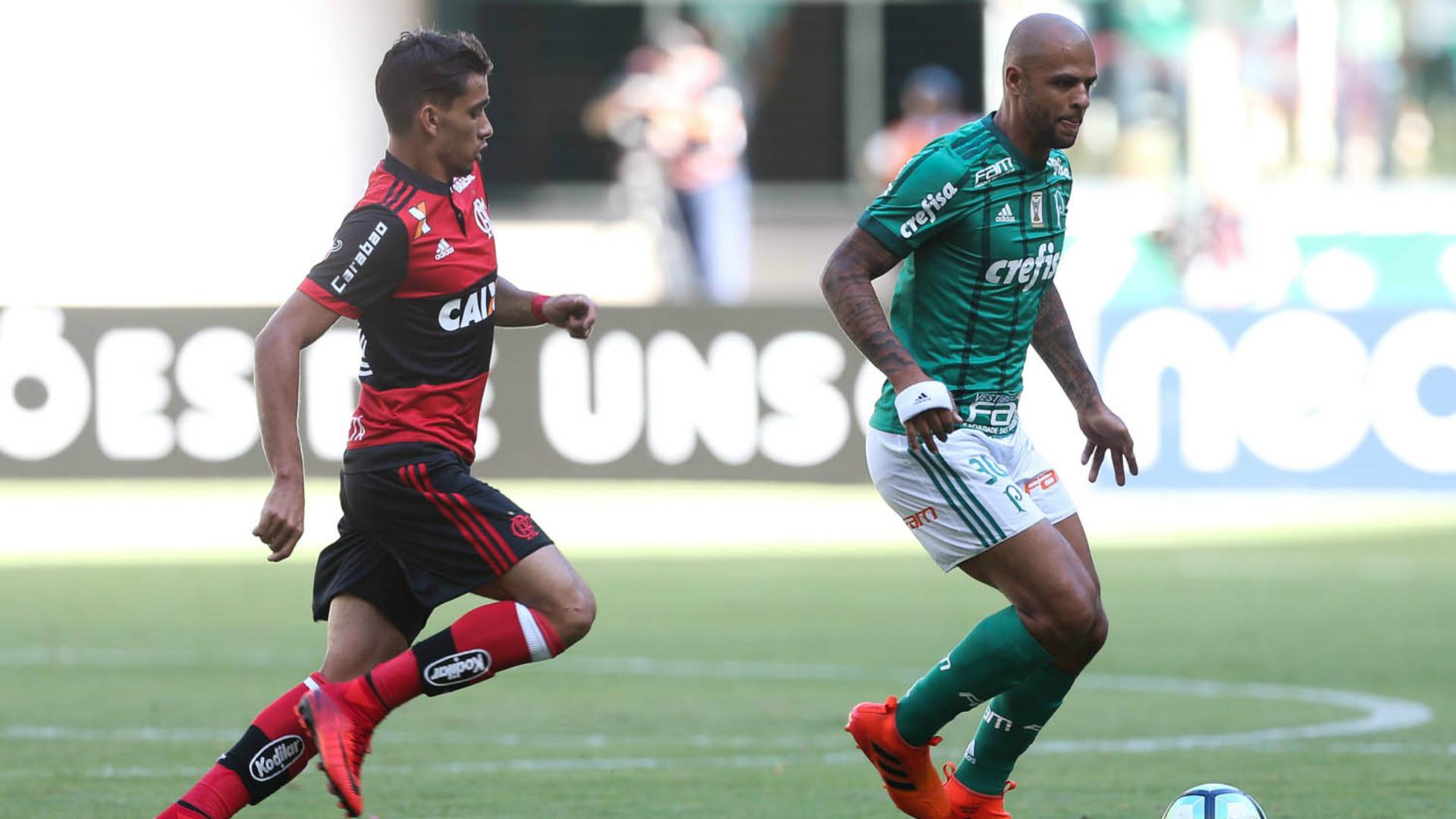 Felipe Melo - Palmeiras x Flamengo - 12/11/2017