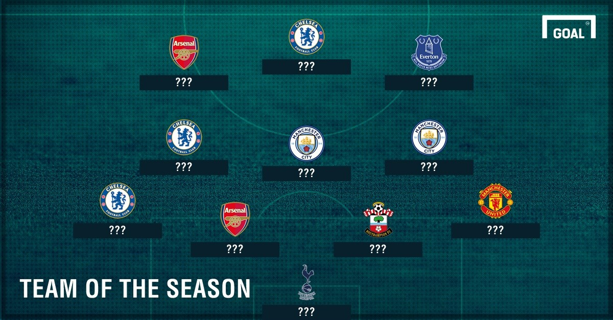Premier League Team of the Season So Far