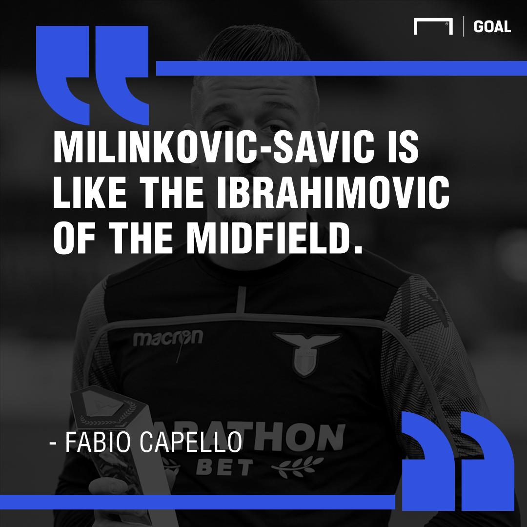 Sergej Milinkovic-Savic Capello PS