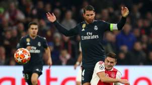 RAMOS AJAX REAL MADRID CHAMPIONS LEAGUE
