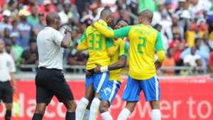 Khama Billiat, Yannick Zakri, Thabo Nthethe - Orlando Pirates vs Sundowns