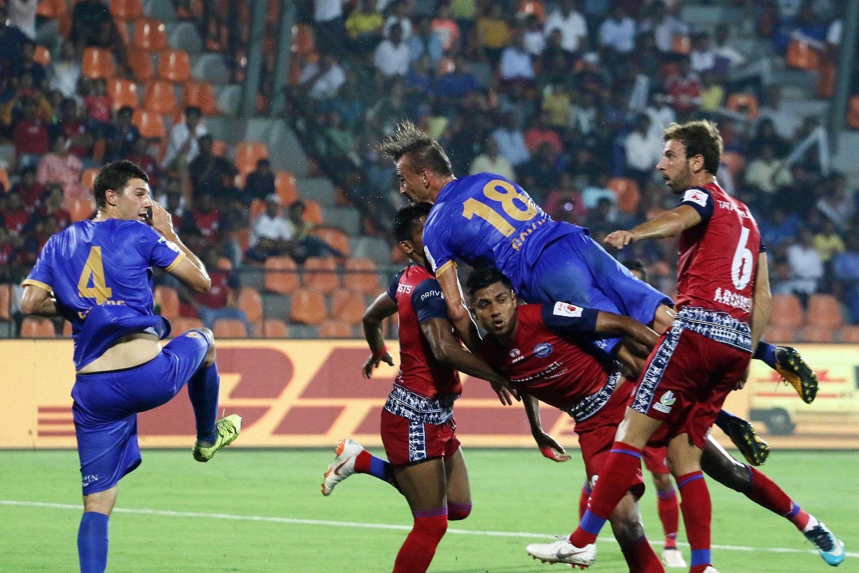 Mumbai City Jamshedpur FC ISL