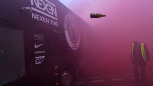 Manchester City bus Anfield Liverpool
