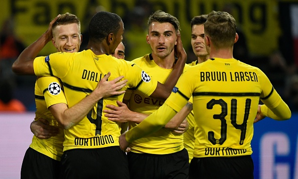 Borussia Dortmund AS Monaco Champions League 031018