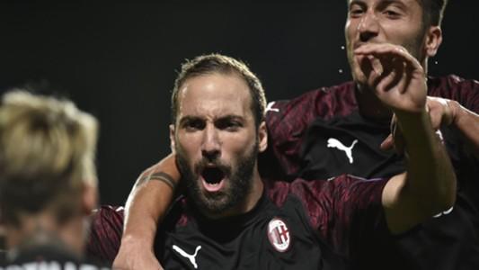 Gonzalo Higuain Dudelange Milan