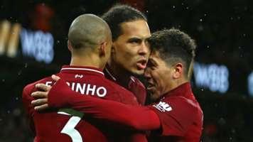 Fabinho Virgil van Dijk Roberto Firmino Liverpool