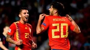 Marco Asensio Dani Ceballos España Croacia Spain Croatia UEFA Nations League 11092018