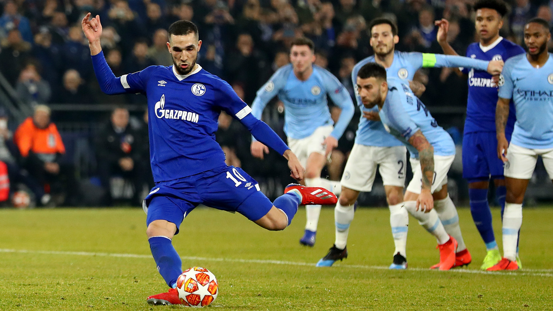 Nabil Bentaleb Schalke 2018-19