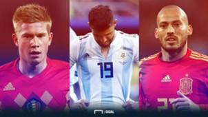 ฟุตบอลโลก 2018 : ส่องผลงานนักเตะแมนเชสเตอร์ ซิตี้