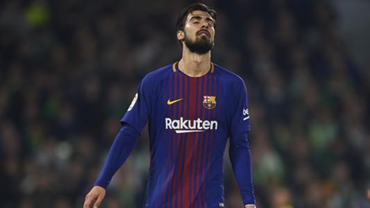 Andre Gomes FC Barcelona 21012018
