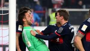 *GER ONLY* Sven Ulreich Thomas Müller VfB Stuttgart FC Bayern