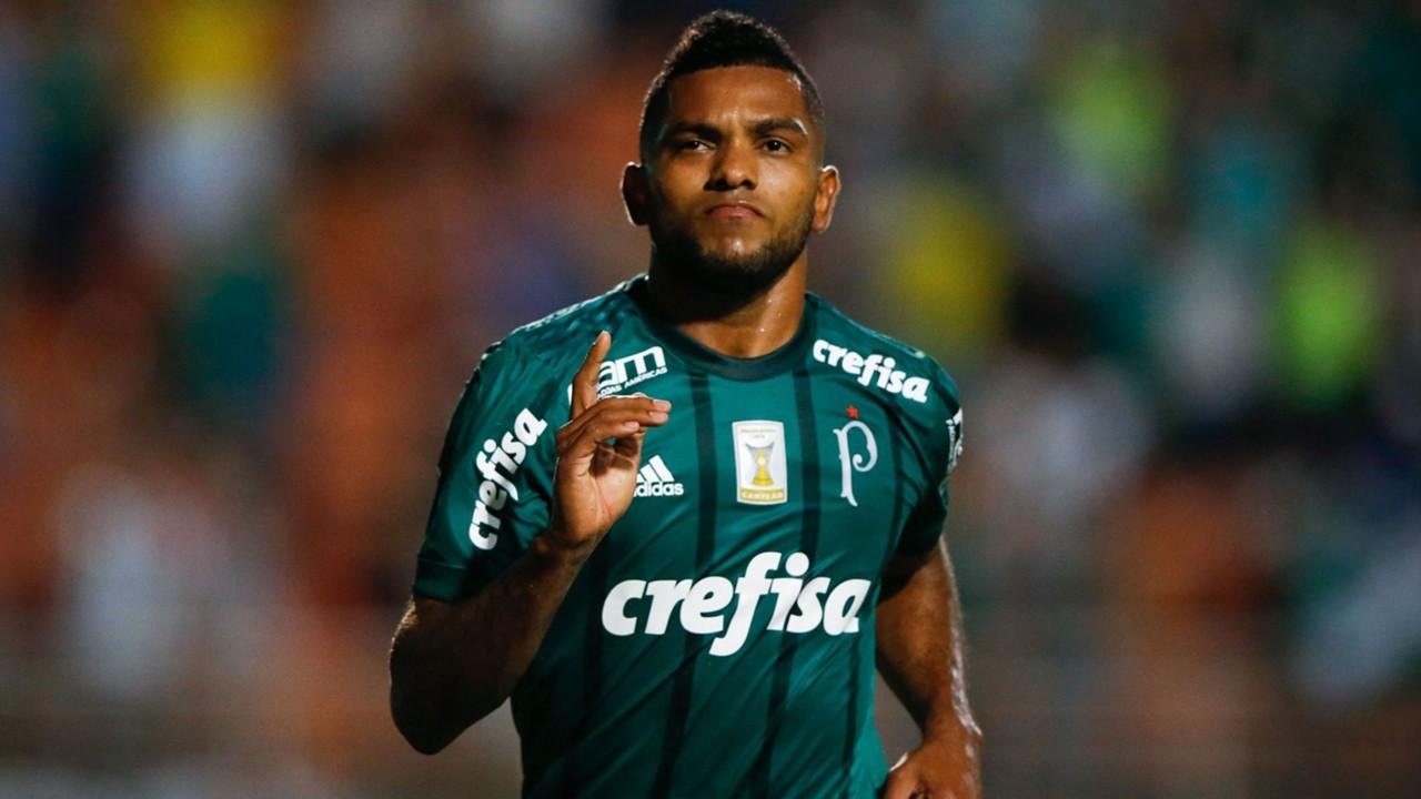 Se quit³ la sal Borja volvi³ al gol con Palmeiras tras 119 das