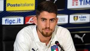 Jorginho Italy press conference