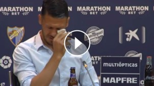 VIDEO PLAY Martin Demichelis Malaga 15052017