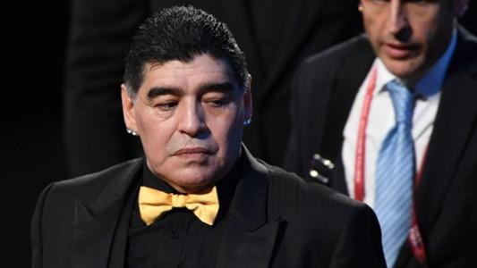Diego Maradona FIFA World Cup 2018 draw
