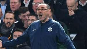 Maurizio Sarri Chelsea Eintracht Frankfurt