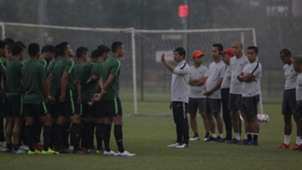 Latihan Timnas Indonesia U-23 Jelang Lawan Vietnam