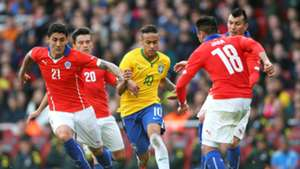 Neymar - Chile