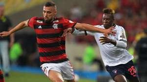 Léo Duarte Jhojan Julio Flamengo LDU Quito Libertadores 13032019