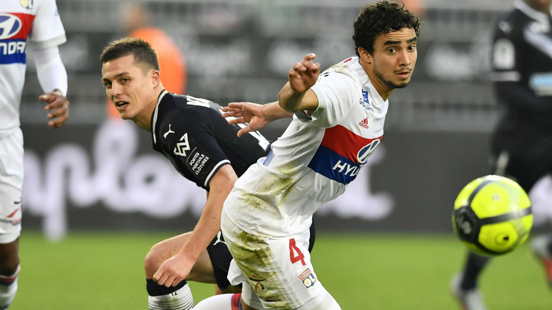 Nicolas De Preville Rafael Bordeaux Lyon Ligue 1 28012018